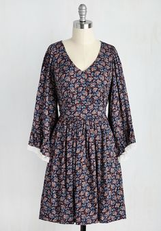 Bluebells Dress is Paisly