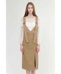 JILLSTUART(Dress)(ドレス)のバニースワンピース(ワンピース)|ベージュ