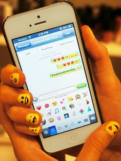 Emoji Nail Art Tutorial - Fun And Easy Nail Art Ideas - Seventeen