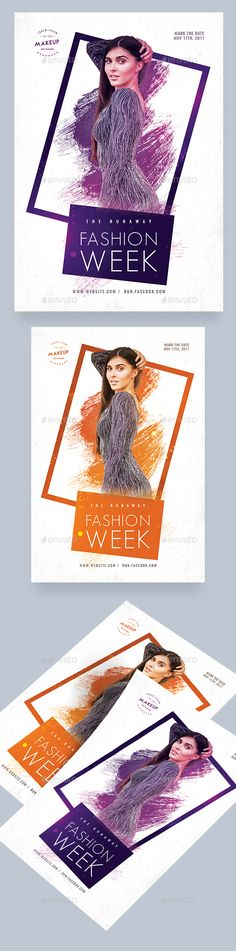 #Fashion Week #Flyer - Events Flyers