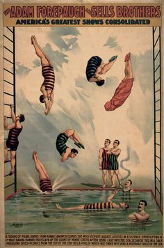 The Adam Forepaugh & Sells Brothers, America's Greatest Shows Consolidated - Vintage Circus Poster Vintage Advertisements, Illustrations Posters, Postcard, Art, Vintage Circus Posters, Poster Design, Vintage Posters, Vintage, Prints