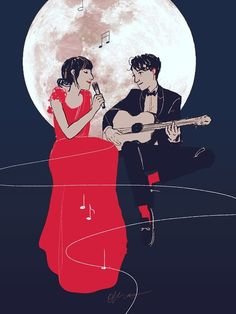 """""""I'm lying on the moon... a million miles away.""""  ~ The Moon Song"""