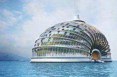 Yüzer mimari örnekleri artıyor.