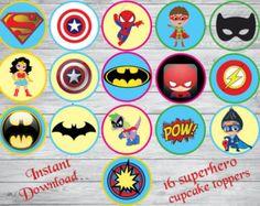 Resultado de imagen de Logos de superheroes Desserts, Tailgate Desserts, Deserts, Postres, Dessert, Plated Desserts