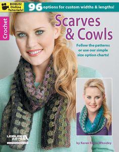 Scarves & Cowls, Crochet eBook - Leisure Arts