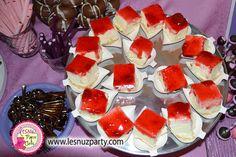 Tarta de queso y mermelada de fresa - Cheesecake