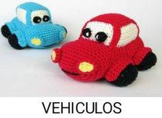 Happy Car - Amigurumi Crochet Pattern / PDF e-Book / Soft Toy Tutorial - Easy Amigurumi Pattern, Softie Pattern, Free Pattern, Diy Gifts For Kids, Sport Weight Yarn, Crochet Toys Patterns, Stuffed Animal Patterns, Crochet Animals, Crochet Hooks
