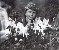 The Cottingley Fairies: A Famous Photo  from 1917. I think my all-time favorite photo