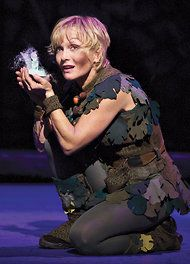 """""""Cathy Rigby Is Peter Pan,"""" starring Ms. Rigby, keeps young eyes wide in wonder with the antics of its title character and the sinister Captain Hook. Peter Pan Stars, Peter Pan Jr, Peter Pan Costume Kids, Lost Boys Costume, Broadway Costumes, Musical Theatre Broadway, Peter Pan Musical, Captain Hook Costume, Pan Photo"""