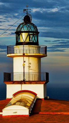 Cap-De-Creus Lighthouse, Cadaques, Catalonia, Spain-constructed in 1904 Barcelona, Beacon Of Light, Sea And Ocean, Beautiful World, Around The Worlds, Malaga, Italy, Building, Light House