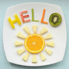 50+ Kids Food Art Lunches - Hello Sunshine Food Art