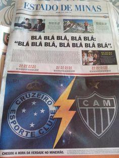 Noviembre - Estado de Minas sobre la definición de la Copa Brasil: Cruzeito vs, Mineiro
