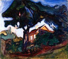 Edvard Munch, The Apple Tree