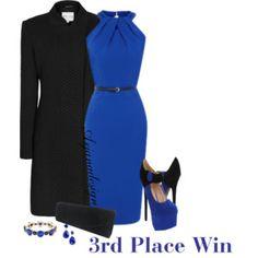 Loula Dress in Royal Blue