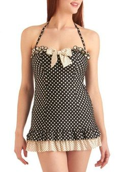 BETSEY JOHNSON COMIC STRIP SWEETHEART ONE PIECE IN BLACK