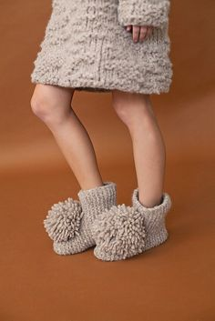 506a0cf9c0e02 Jean Slipper Booties pattern by The Rare Creature