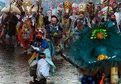 Spanish Reader :: El Carnaval de Huejotzingo