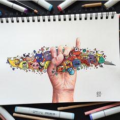 Great work by @vexx_art #designspiration #creative #design #art #design - View this Instagram https://www.instagram.com/Designspiration/