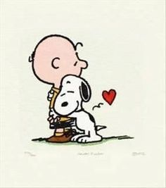 Charlie Brown and Snoopy : )