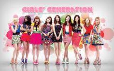 Girls' Generation: a pop group from Korea.