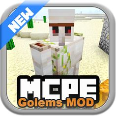 Golems MOD for MCPE 1.0