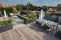 Terraced patio designs and patio terraced house. Turn your backyard or patio into a beautiful garden terrace. Outdoor Decor, Apartment Garden, Garden Design, Green Roof, Pergola Designs, Outdoor Patio Decor, Outdoor Space Design, Backyard Landscaping Designs, Roof Terrace Design