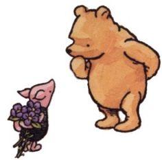 Winnie the Pooh by British AA Milne