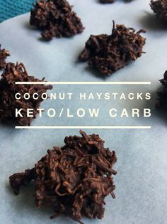 """TweetEmail TweetEmail Share the post """"Coconut Haystacks (Keto /Low Carb)"""" FacebookPinterestTwitterEmail I have to admit, that I still like something sweet after dinner. It doesn't have to be much, just a little bite or two is satisfying. I've tried lots of different fat bomb recipes and have liked most of them. Since I started keto,continue reading..."""