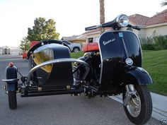Side-car Vespa