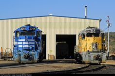 RailPictures.Net Photo: AZER #2502 Arizona Eastern Railway EMD GP35 at Globe, Arizona by Mike Mautner