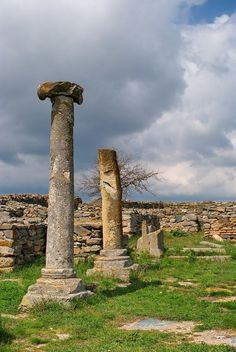Ruins: Histria, Constanta, Romania.