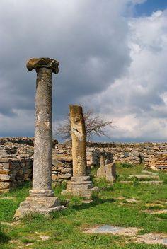 Ruins... - Histria, Constanta, Romania