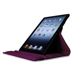 360 Degree Rotating Stand Smart Case Leather Cover for iPad Air