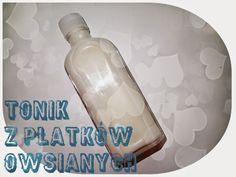 DIY: Tonik z płatków owsianych Soap, Personal Care, Bottle, Tonik, Beauty, Zero Waste, Self Care, Personal Hygiene, Flask