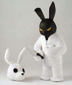 Black in White / Luke Chueh Vinyl Toys, Vinyl Art, Character Concept, Character Design, 3d Character, Vinyl Figures, Action Figures, Art For Art Sake, Designer Toys