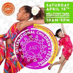 A FREE Event the whole family will enjoy! The International Children's Festival in Hampton is this weekend. http://hamptonroads.myactivechild.com/blog/international-childrens-festival-hampton/