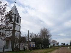 Iglesia, Almada, provincia de Entre Ríos, Argentina, agosto 2009