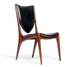Set of 12 Dining Chairs by Vladimir Kagan | From a unique collection of antique and modern dining room chairs at https://www.1stdibs.com/furniture/seating/dining-room-chairs/