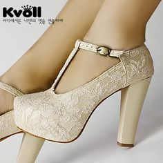 Va Va Voom! Great bridal shoes, it will certainly match the dress I want.