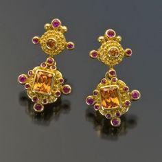Jack and Elizabeth Gualtieri - Jewelry Gallery - Jewelry Gallery - Ganoksin Orchid
