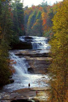 Du Pont State Park in Asheville, North Carolina