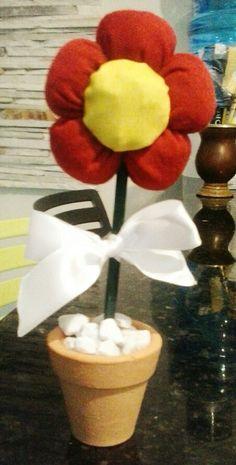 Flor de enfeite Feito por dani signorini