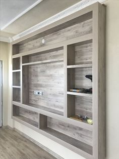 Not for media cabinet but some sort of bathroom/closet built ins #smallbathroomdesignideas