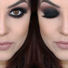 Bruna Malheiros Makeup - Página 3 de 158 - Blog : Bruna Malheiros Makeup How To Make Hair, Eye Make Up, Sexy Makeup, Stunning Eyes, Dark Eyes, Smokey Eye, Hair Beauty, Jewelry, Watch