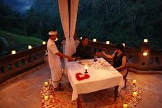 Resultado de imagem para jantar romantico decoração criativa
