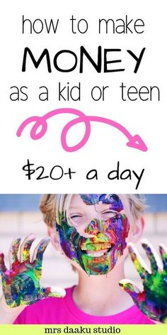 Are you a young kid or a teenager looking for ways to make money online or offline? Well, check out this list of things other kids are doing and choose which one you want to do. #makemoneyasakid #waysforakidtomakemoney #makemoneyfromhome