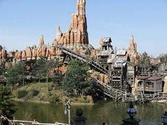 Le train de la mine, Big Thunder Mountain à Disneyland Paris, Frontierland