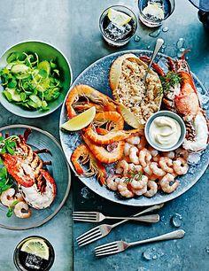 Christmas Seafood Platter Recipes : christmas, seafood, platter, recipes, Seafood, Platter, Ideas, Platter,, Seafood,, Recipes