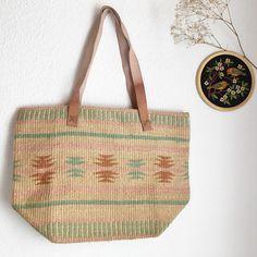 Stroh Tasche Shopper Umhängetasche Boho gewebt Korbweide Markt Bag französischen chic natürliche Bio Mode Accessoires folk ethnische Tasche