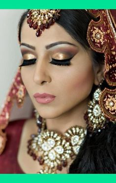 Bridal Makeup Different Cultures : 1000+ images about Indian Bridal Lashes on Pinterest ...
